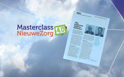 Masterclass NieuweZorg inspireert zorgvernieuwers